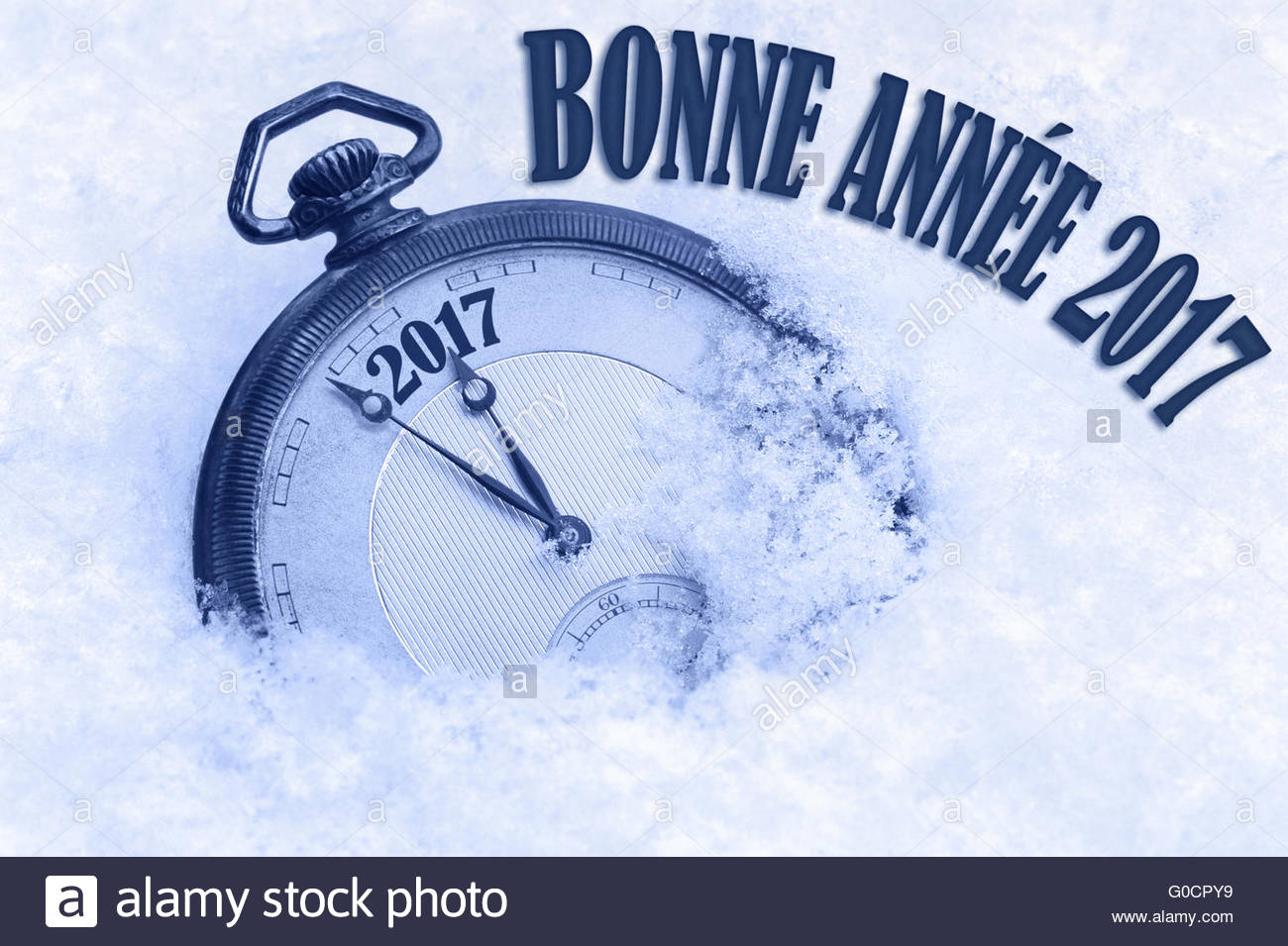 bonne annee happy new year 2017 greeting in french language text greeting card 2017