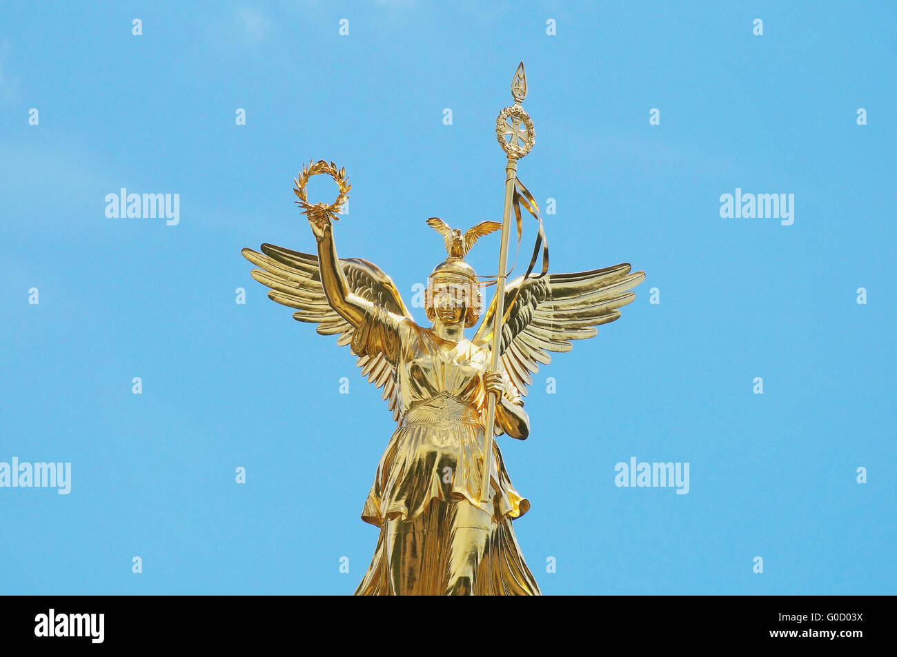 Victory Column Germany Berlin - Stock Image