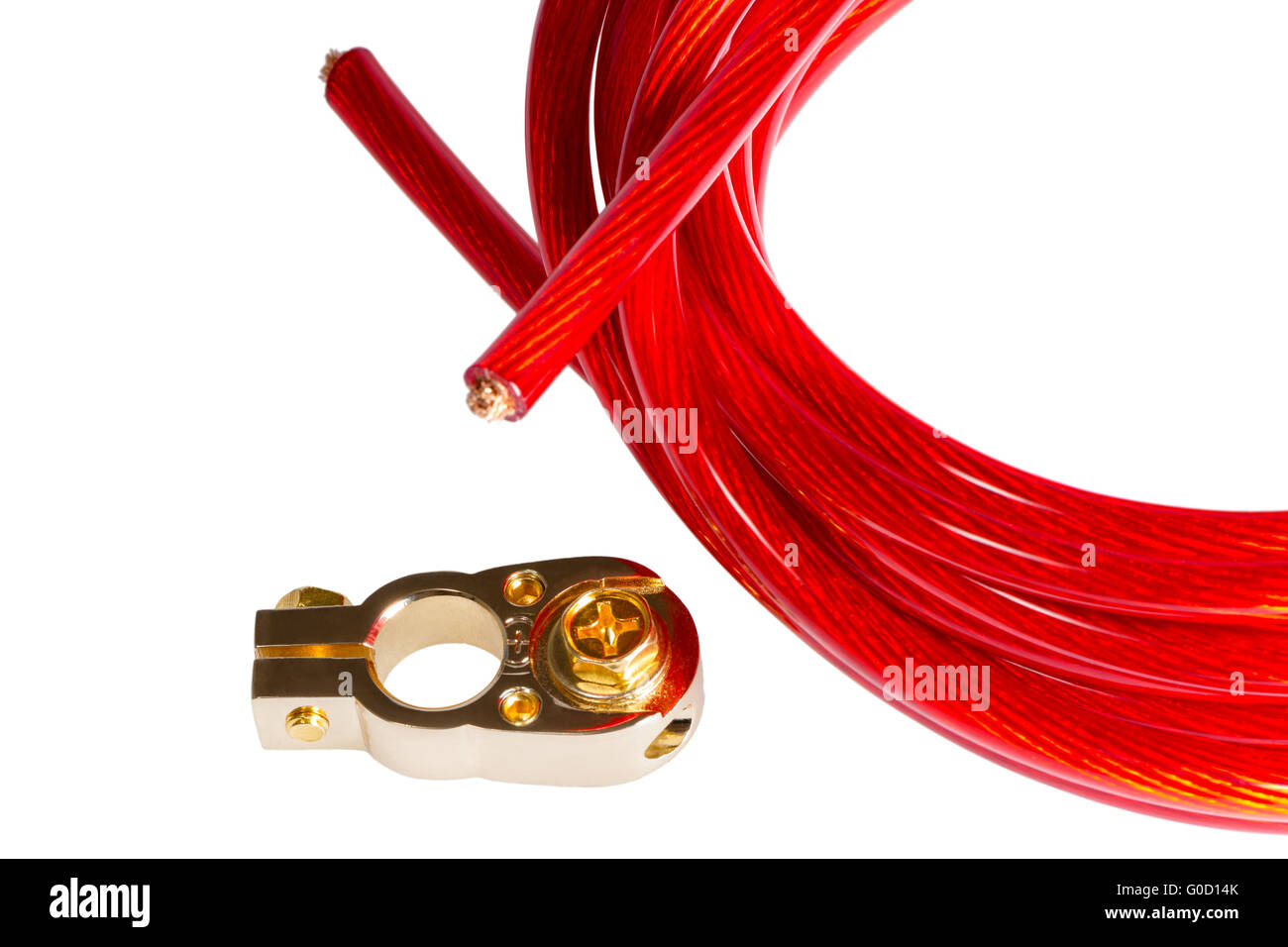 Electricity Power Cable And Positive Contact Terminal Car Battery