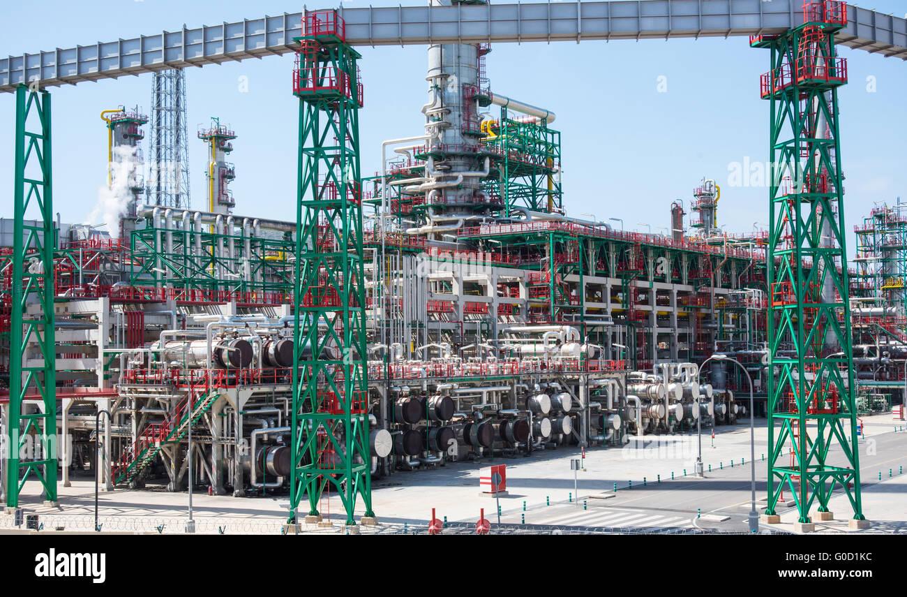 refinery Stock Photo
