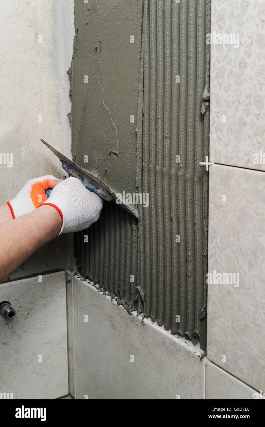 Ceramic Tiles Tools Tiler Floor Stock Photos Amp Ceramic