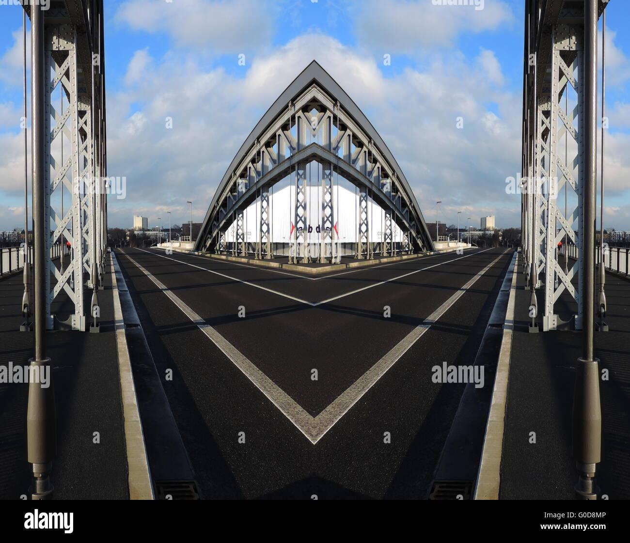 power bridge Stock Photo