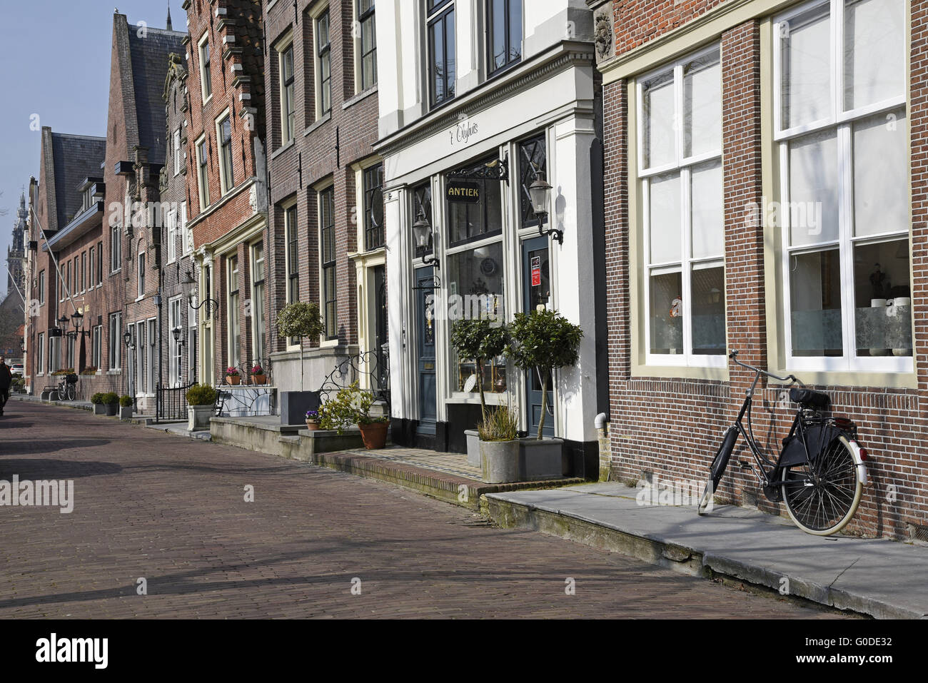 historic city, Edam, The Netherlands - Stock Image
