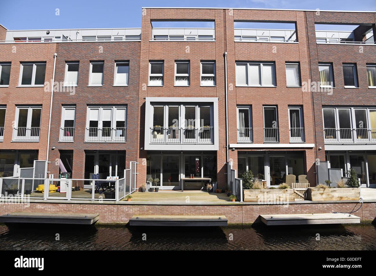 Turfmarkt, Alkmaar, The Netherlands - Stock Image