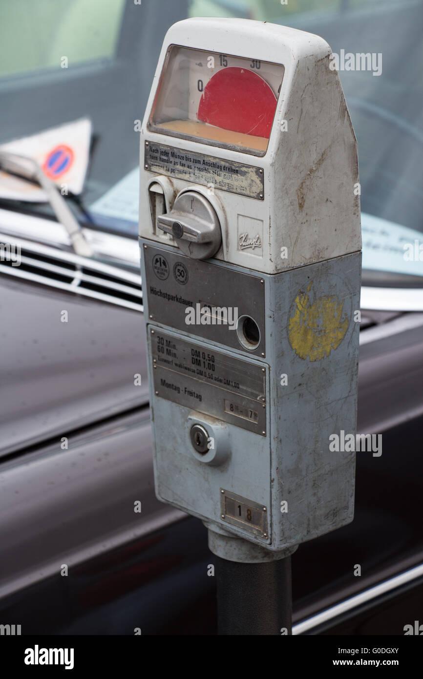 parking meter - Stock Image