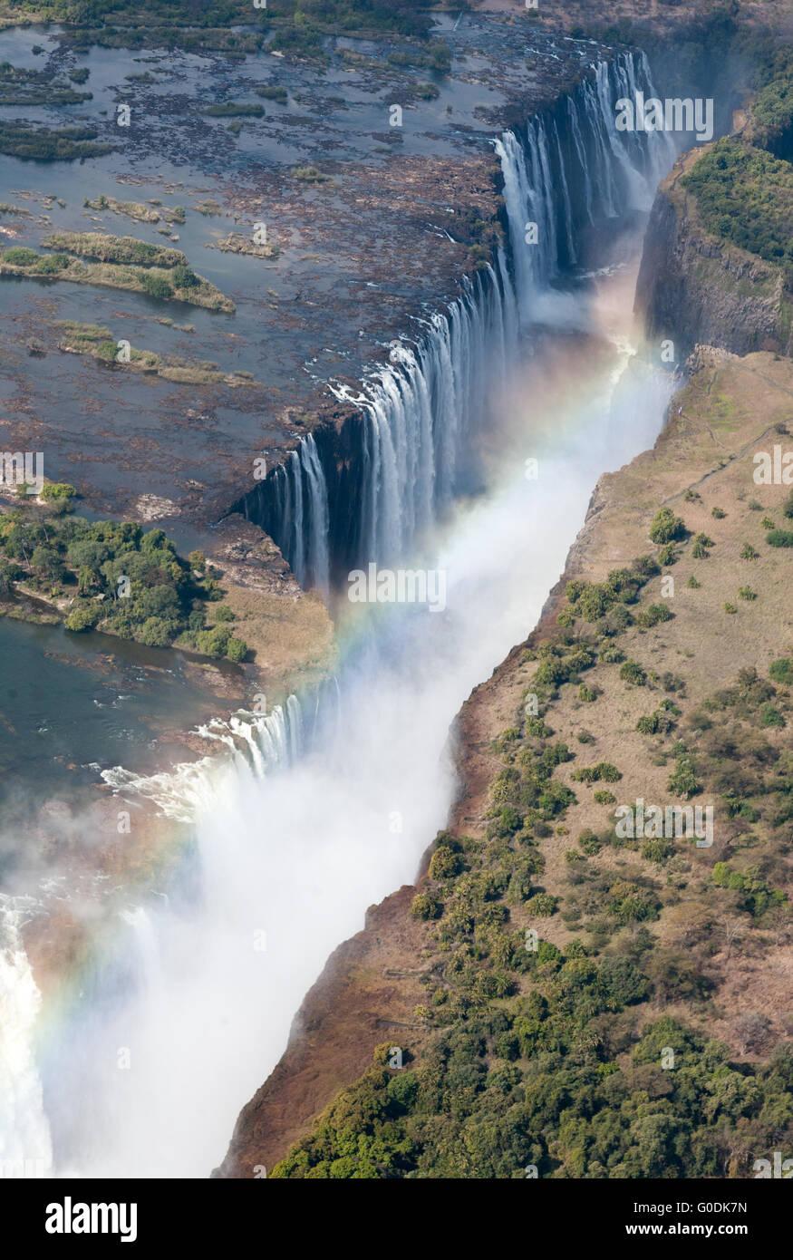 Victoria Falls - Stock Image
