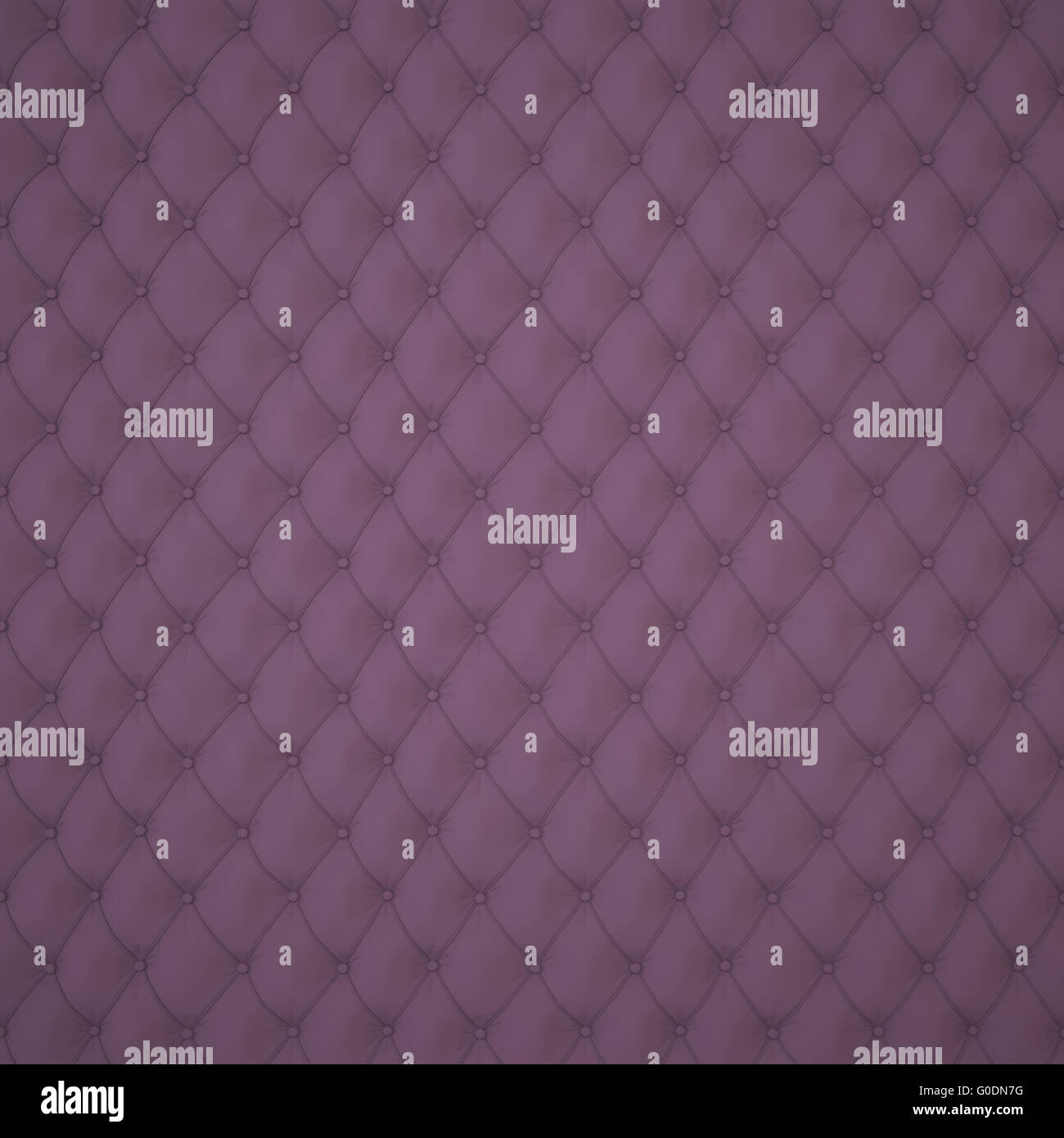 Dark Capitone Upholstery Pattern - Stock Image
