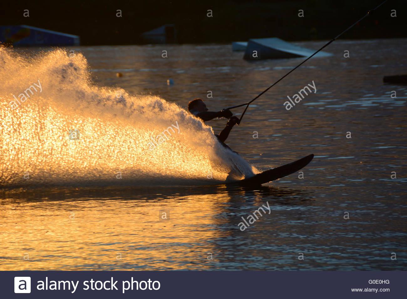 wakeboarding - Stock Image