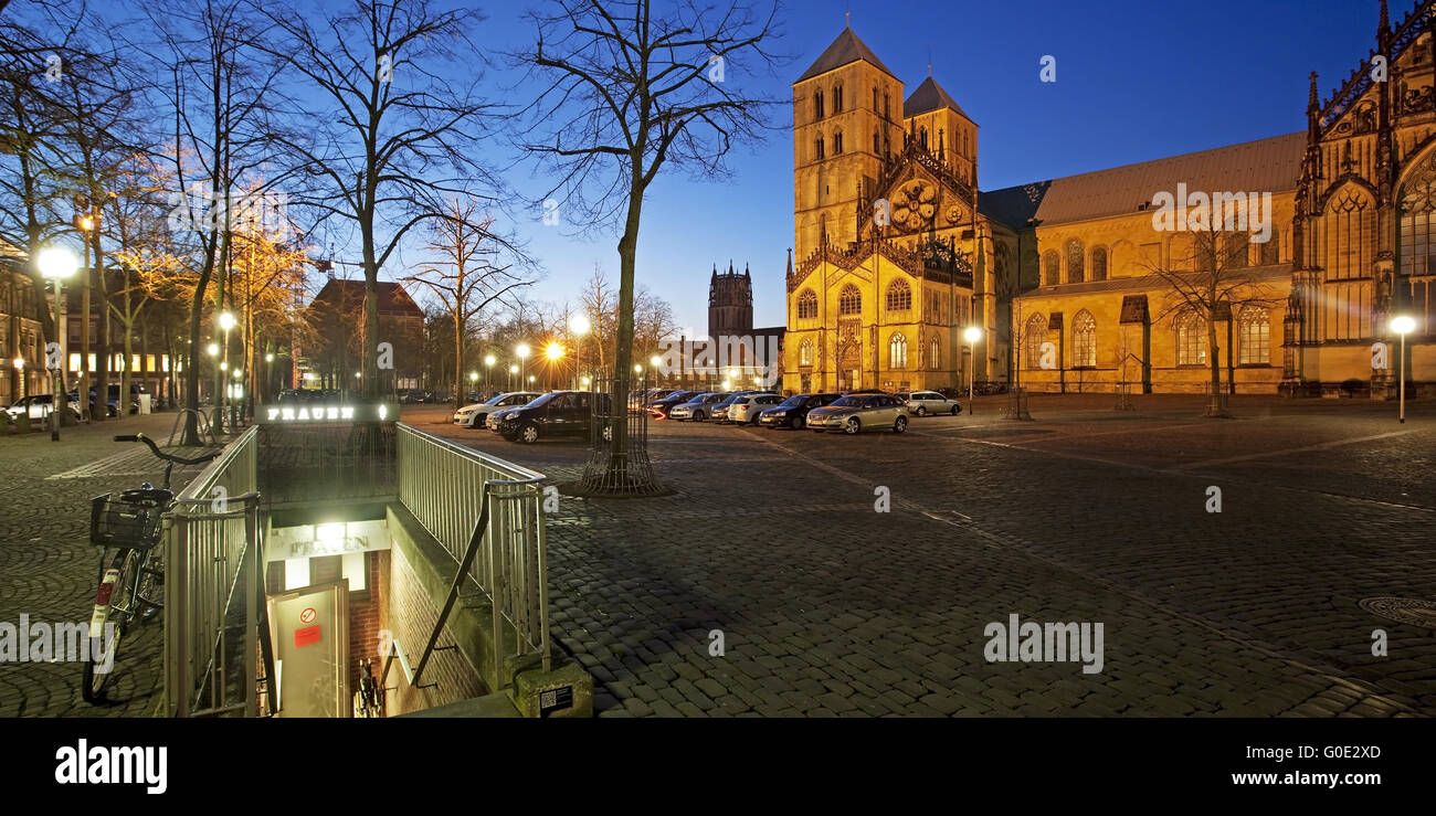 Muenster Cathedral (St.-Paulus-Dom), Germany - Stock Image