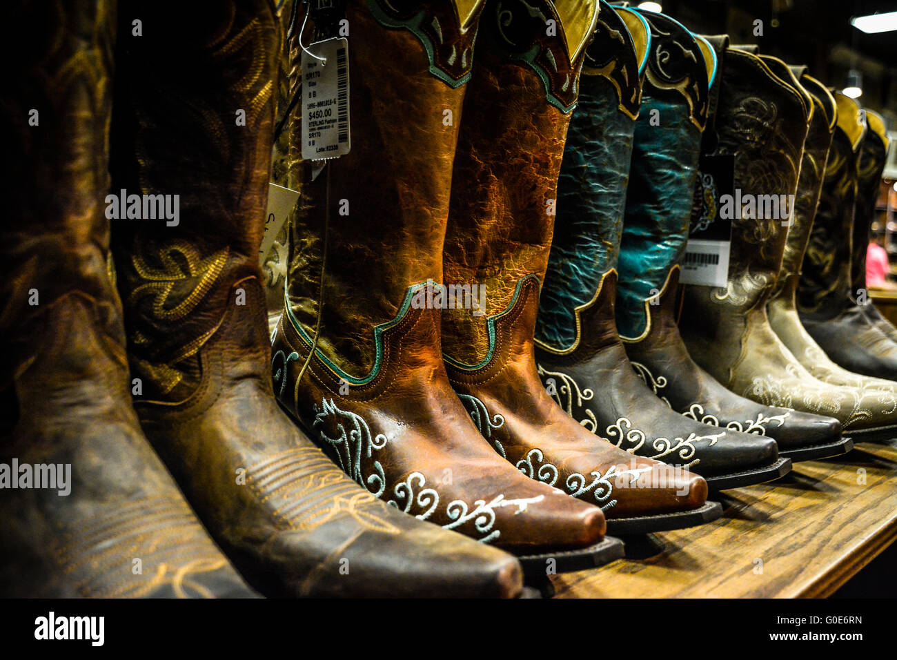 Cowboy Boot Store Stock Photos Amp Cowboy Boot Store Stock