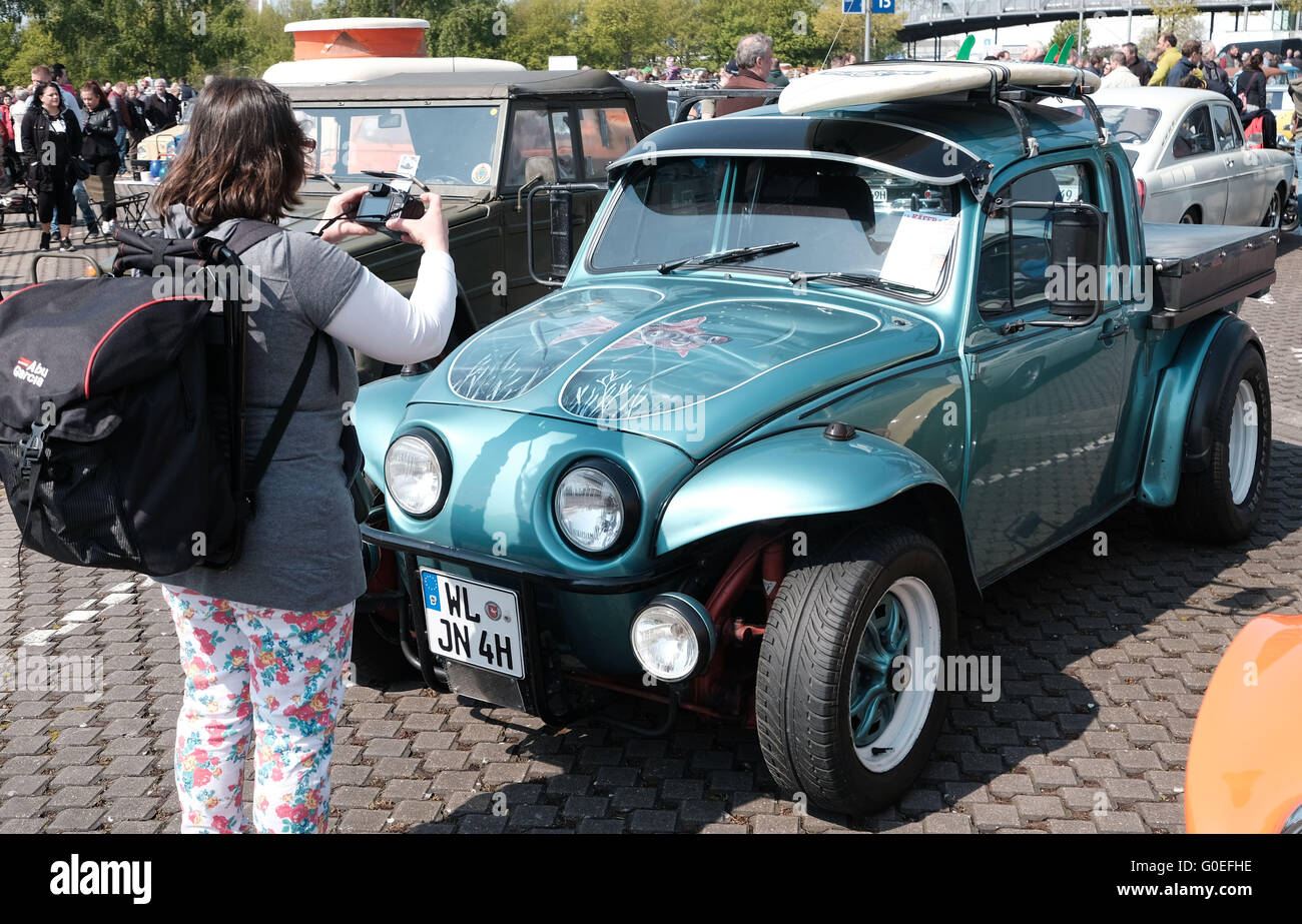 Volkswagen Beetle Modified Car Stock Photos Volkswagen Beetle