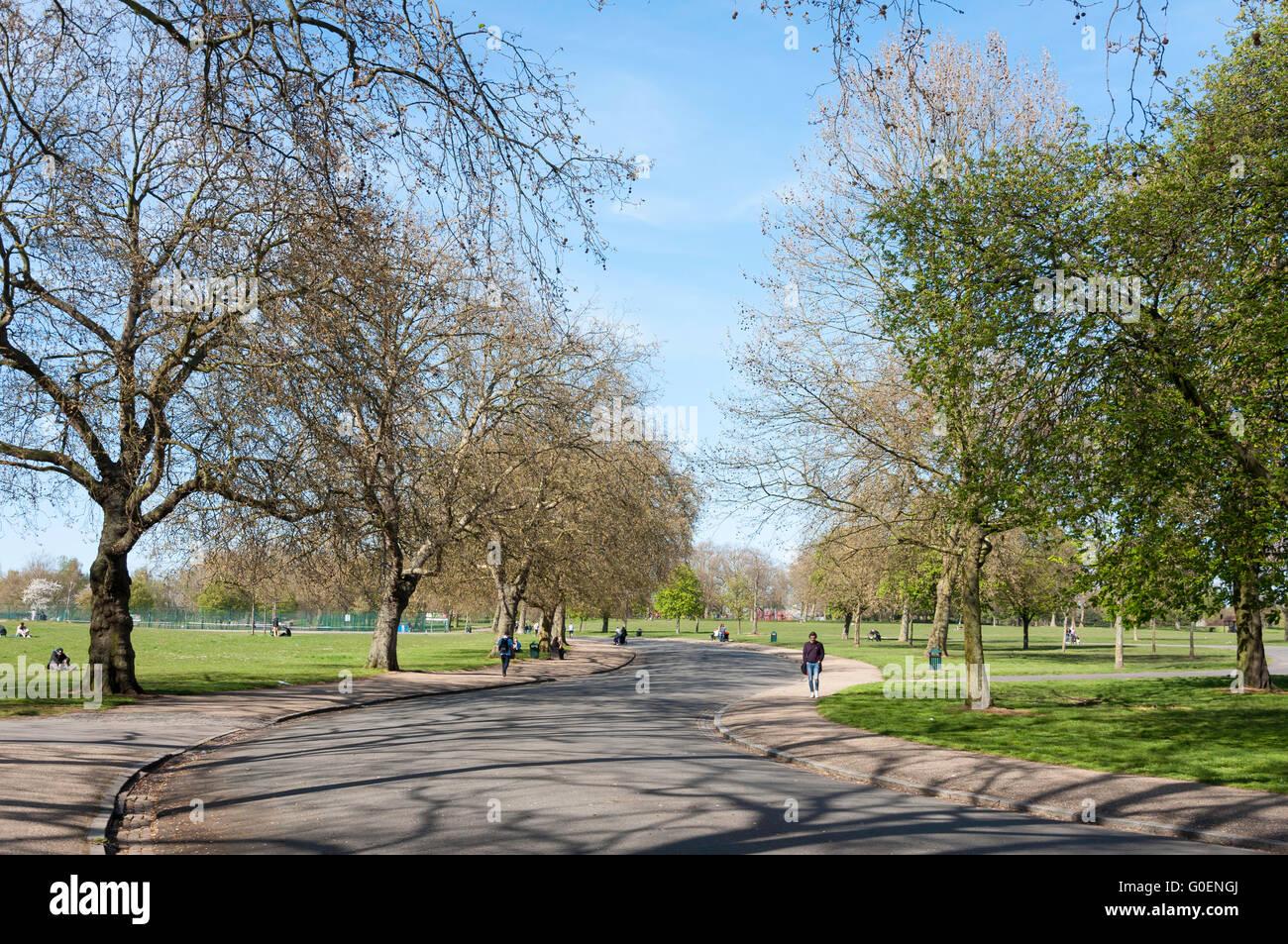 Finsbury Park, London Borough of Haringey, Greater London, England, United Kingdom - Stock Image