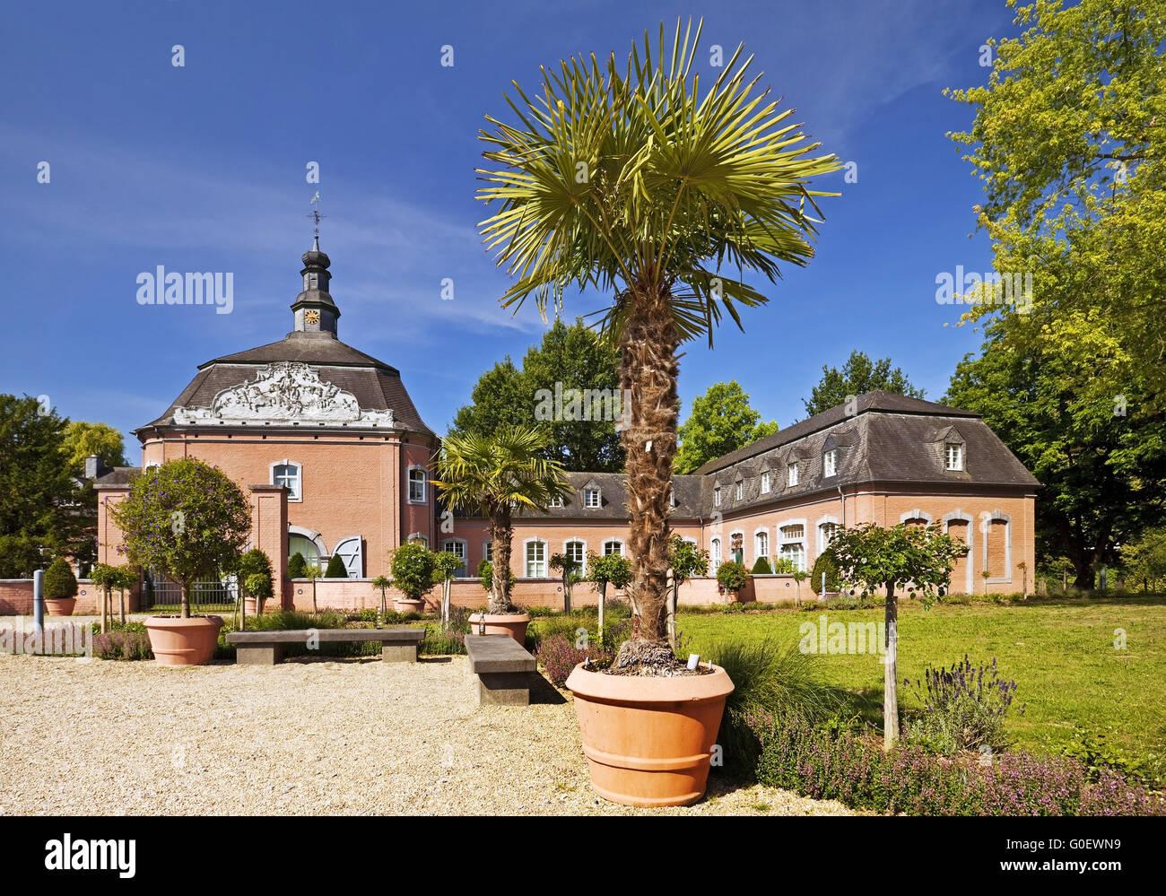 Castle Wickrath, Moenchengladbach, Germany - Stock Image
