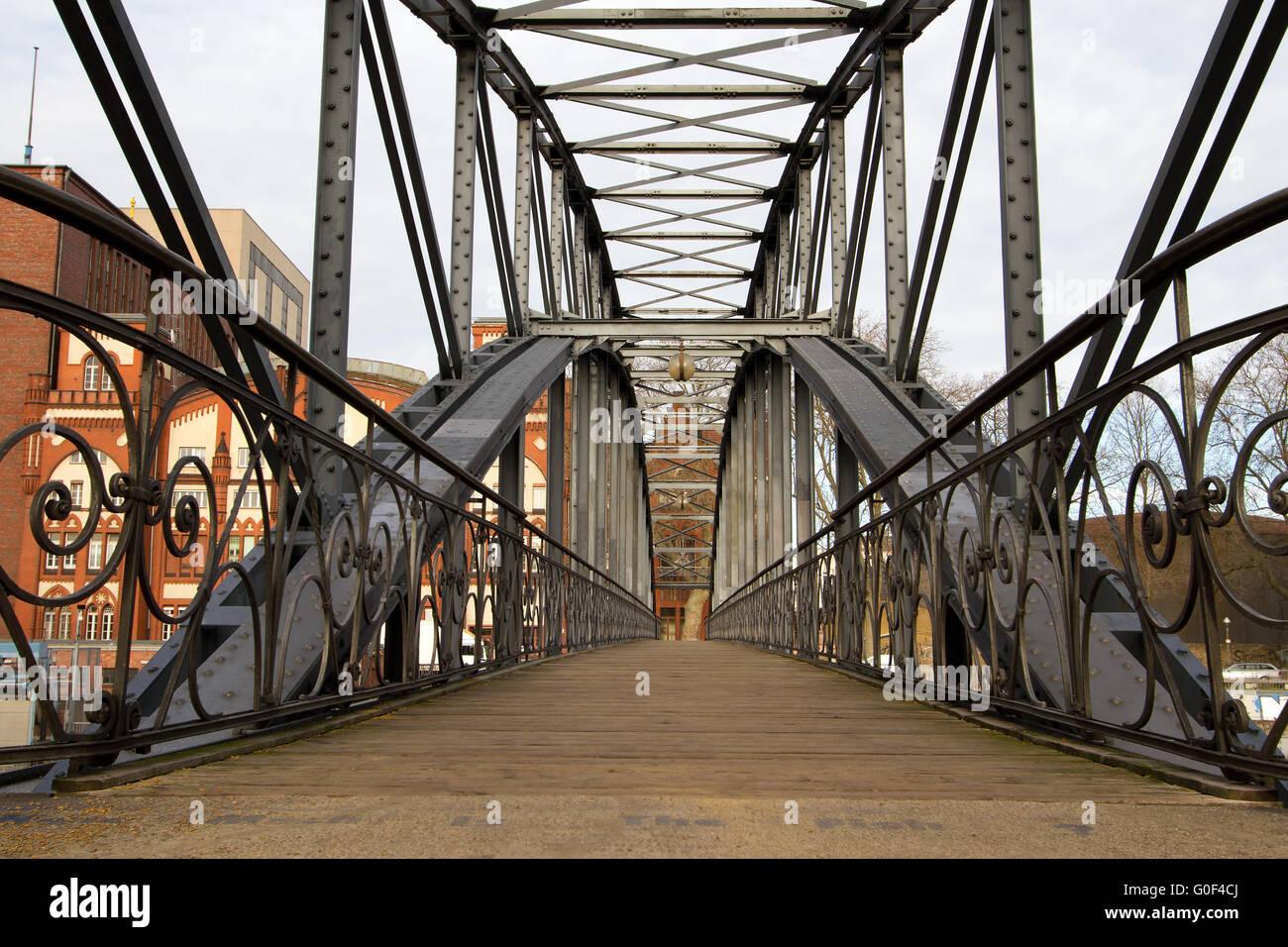 Bridges 001. Germany Stock Photo
