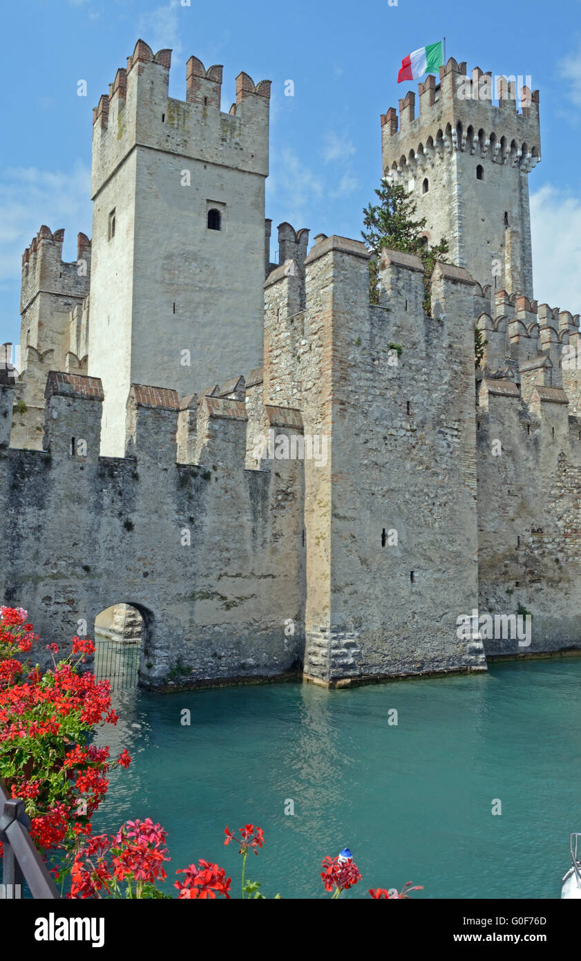 Italy, castle - Stock Image