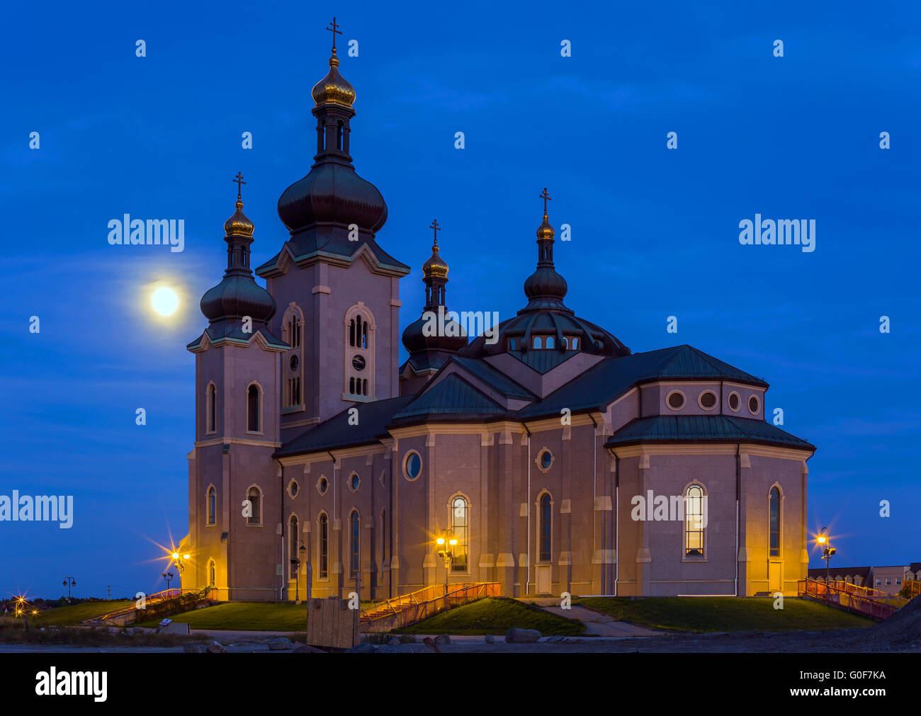 The Cathedral of the Transfiguration - Stock Image