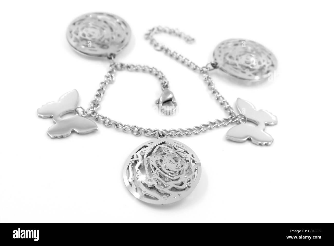 Ladies bracelet - Stock Image