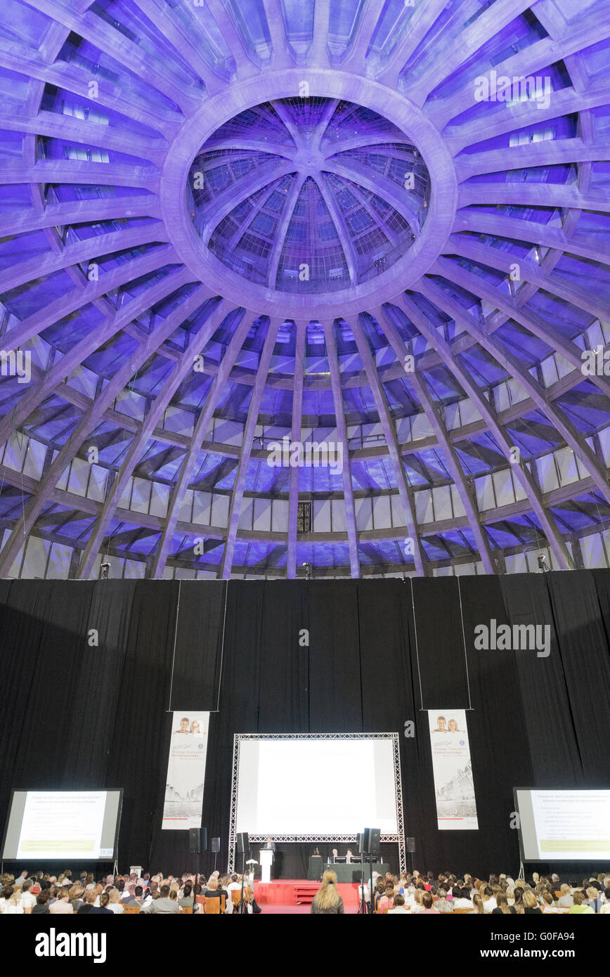 Centennial Hall Stock Photo
