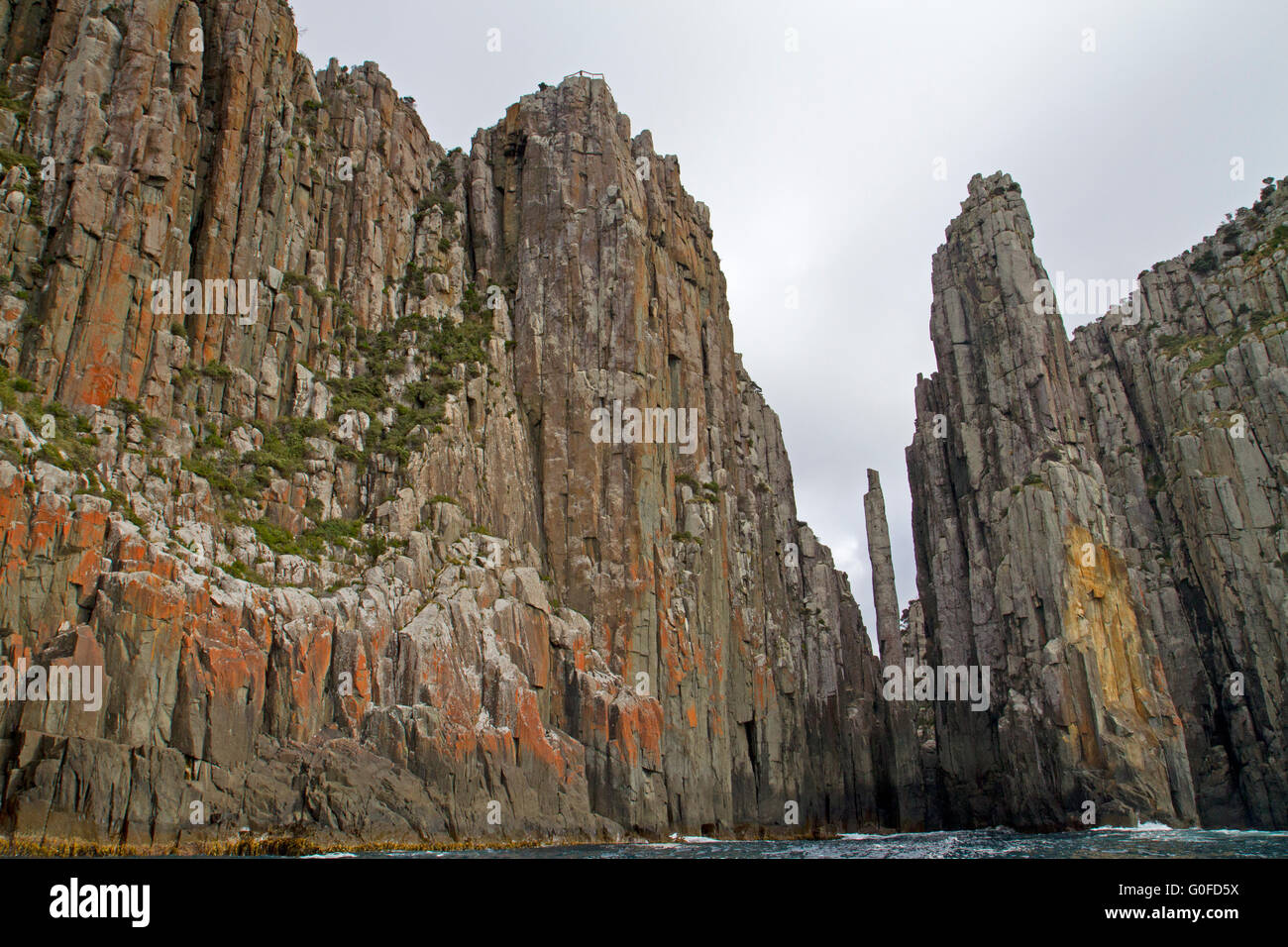 Cape Hauy, the Totem Pole and the Candlestick - Stock Image