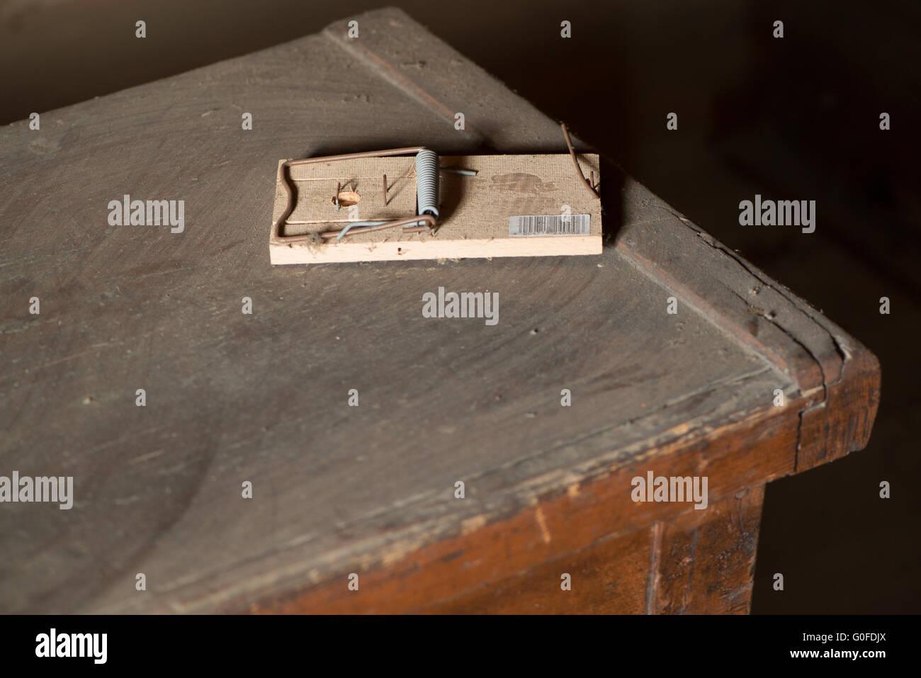 Rattletrap on an Attic Stock Photo