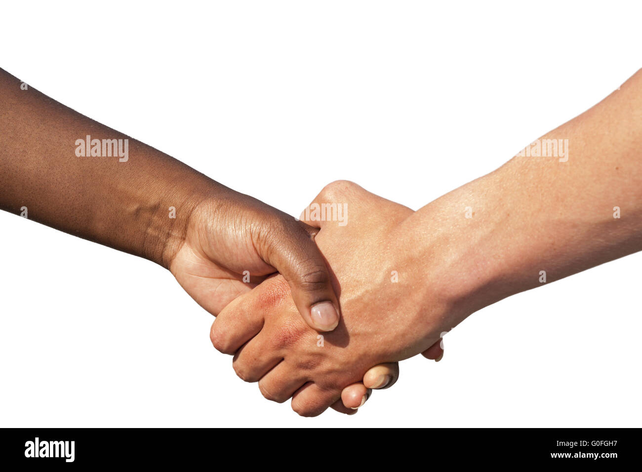 Handshaking - Stock Image