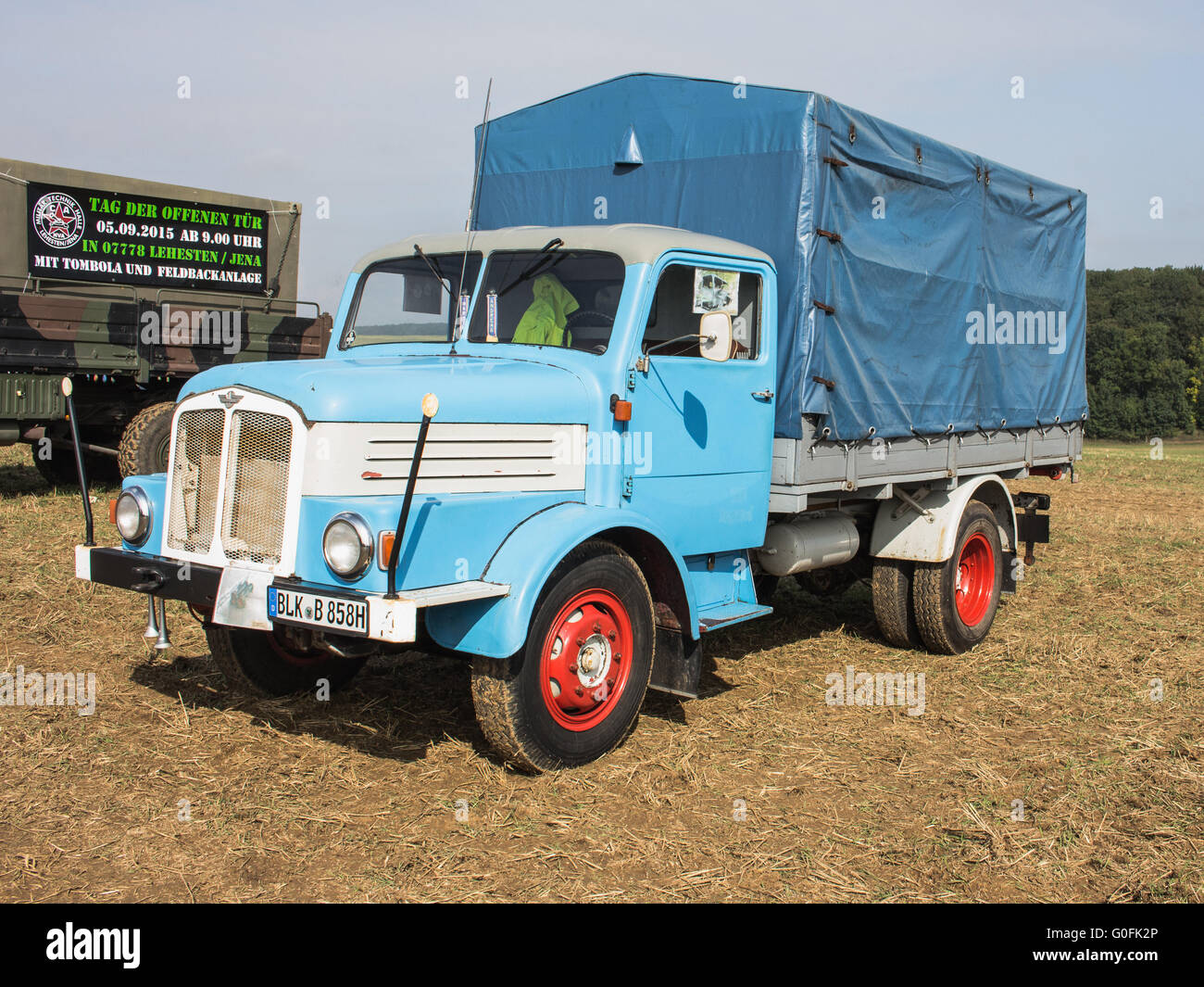 Classic Truck - Stock Image