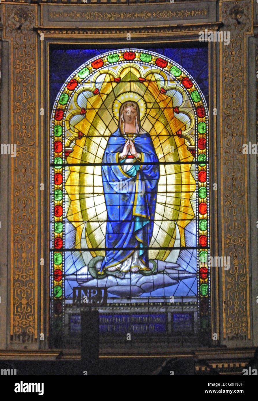 church window - Stock Image