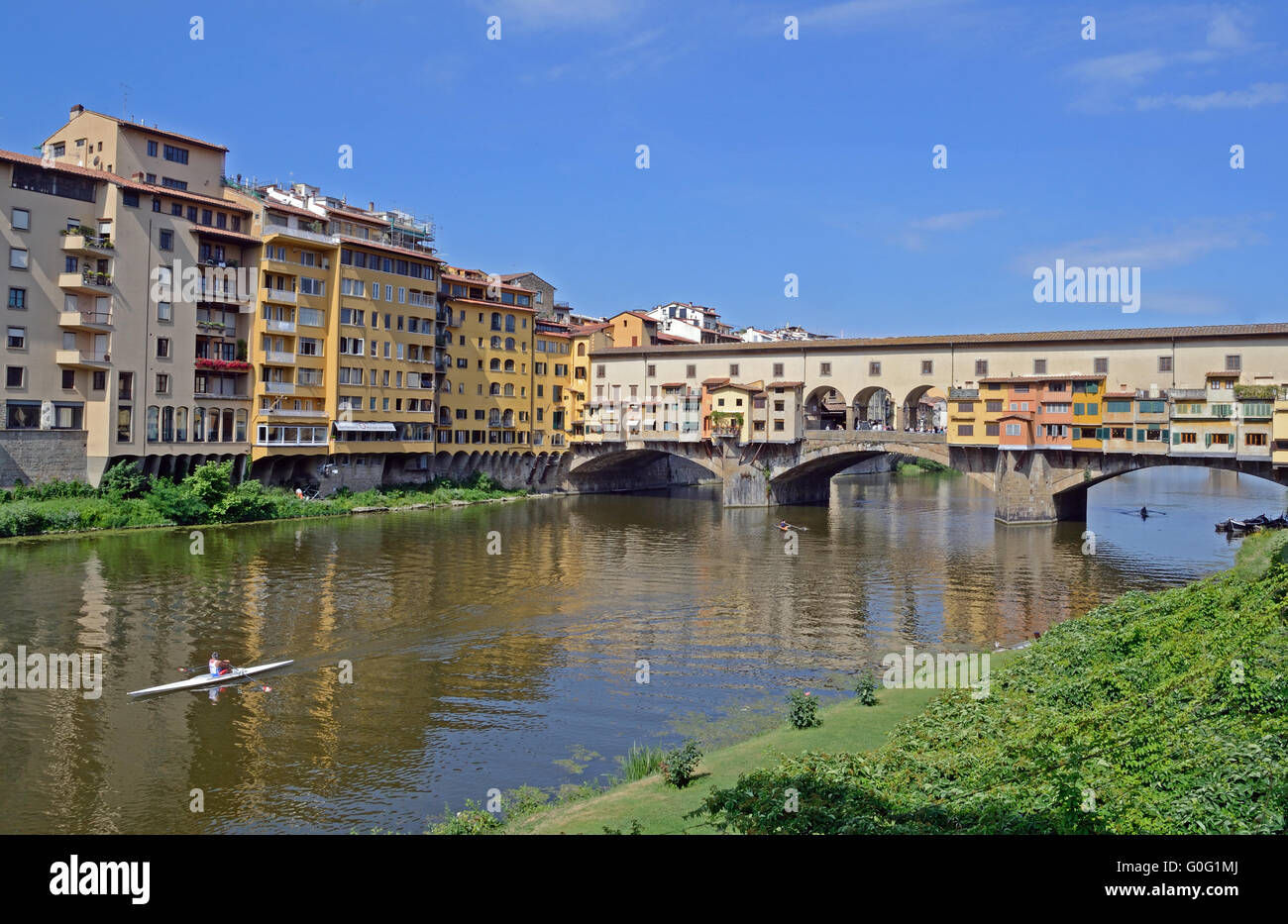 Florence, river - Stock Image