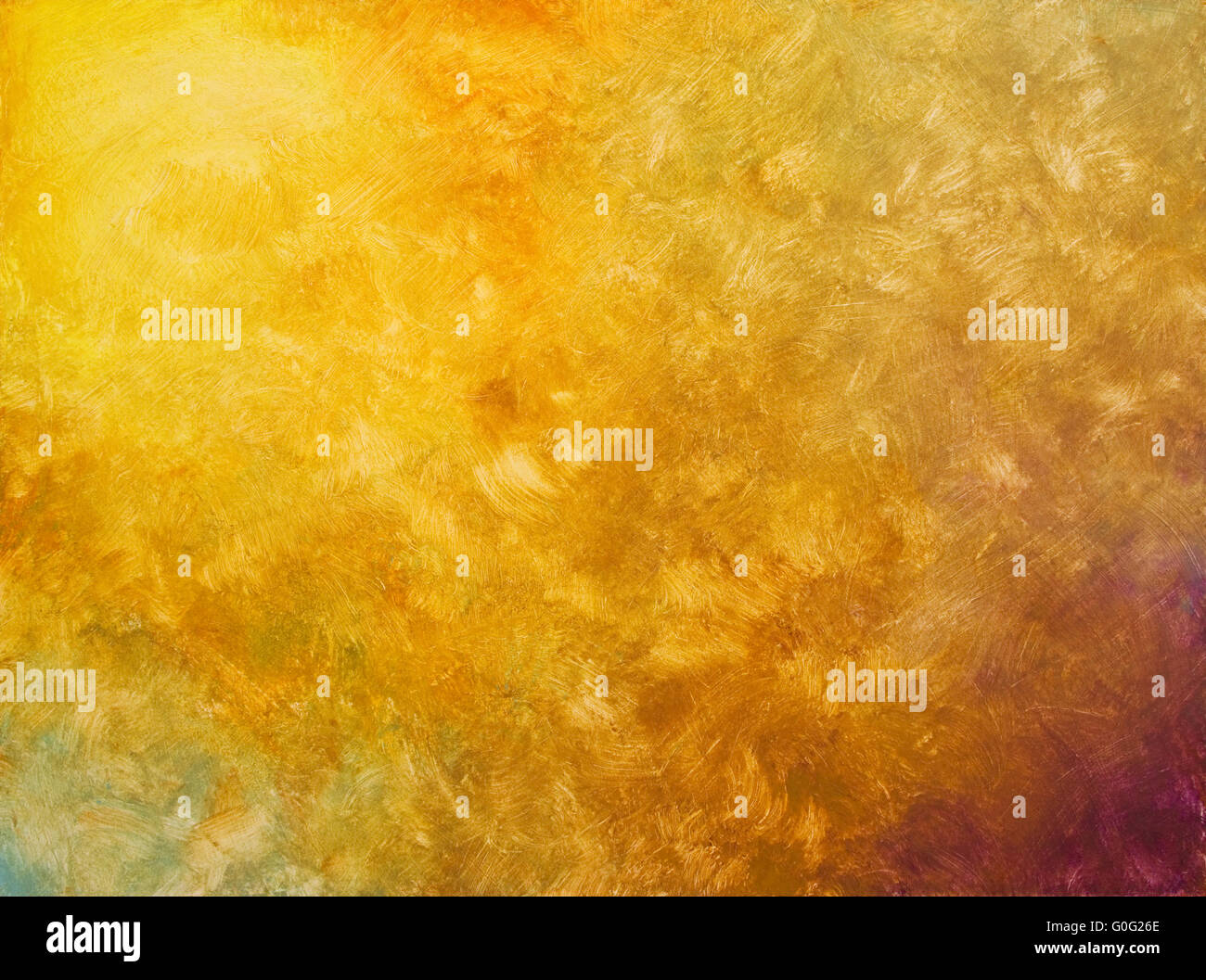 hand painted gradient texture - Stock Image