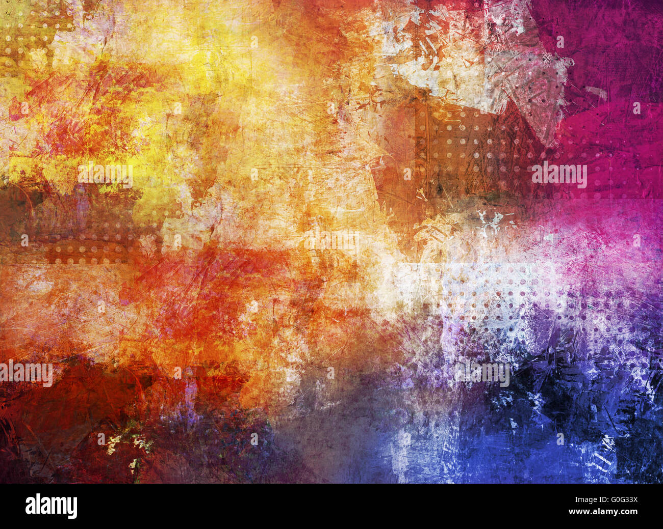 abstract colorful textures - Stock Image