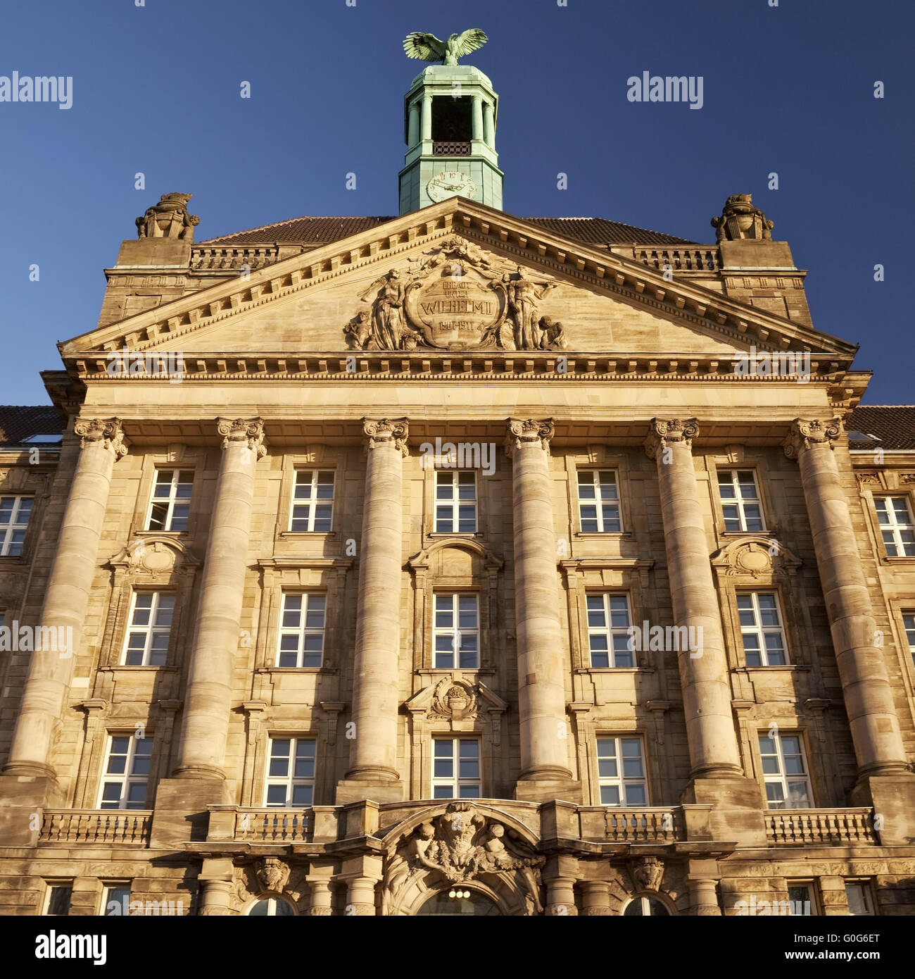 Building of the district government, Duesseldorf, North Rhine-Westphalia, Germany, Europe Stock Photo
