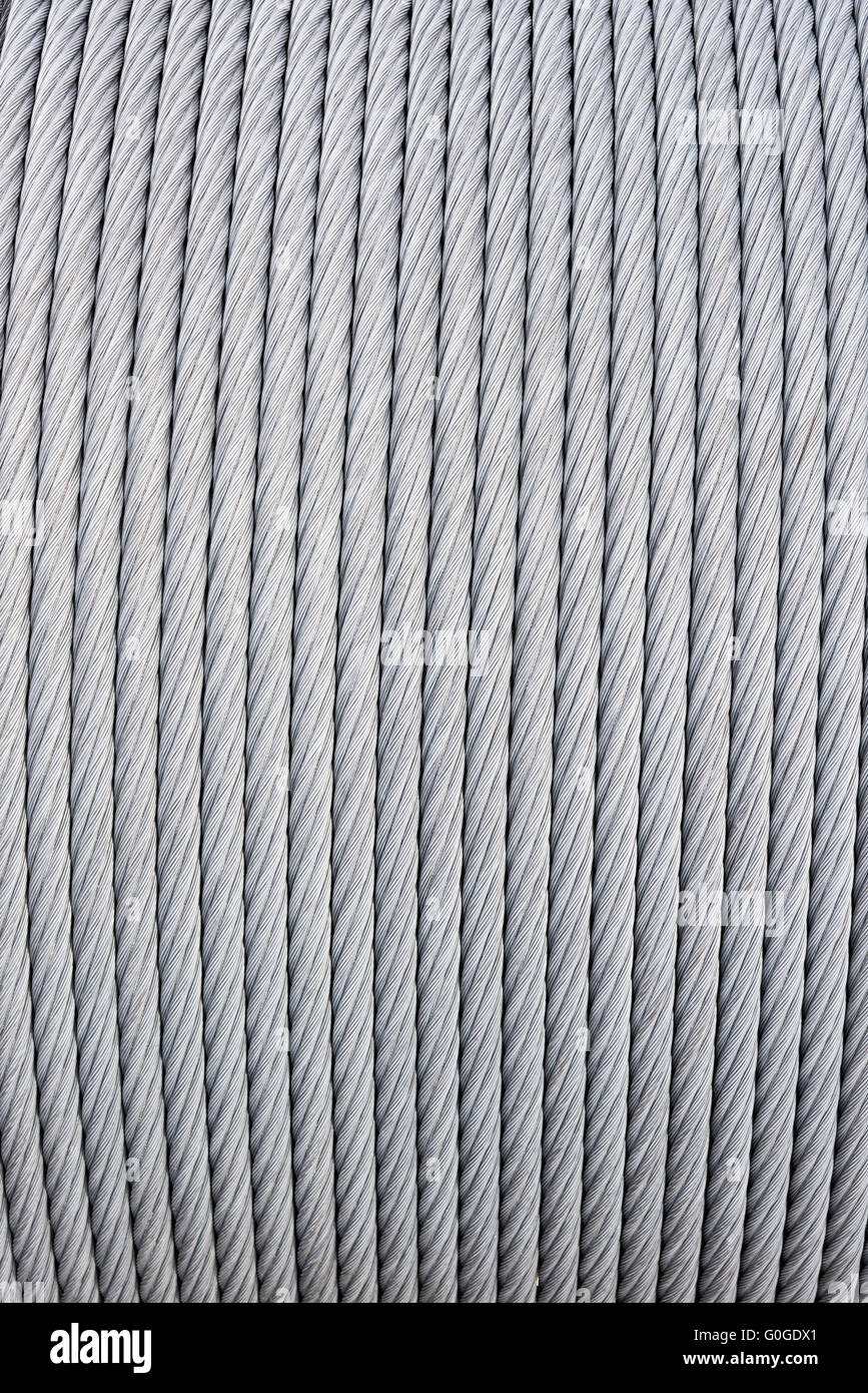 Texture Wire Rope Steel Cable Stock Photos & Texture Wire Rope Steel ...