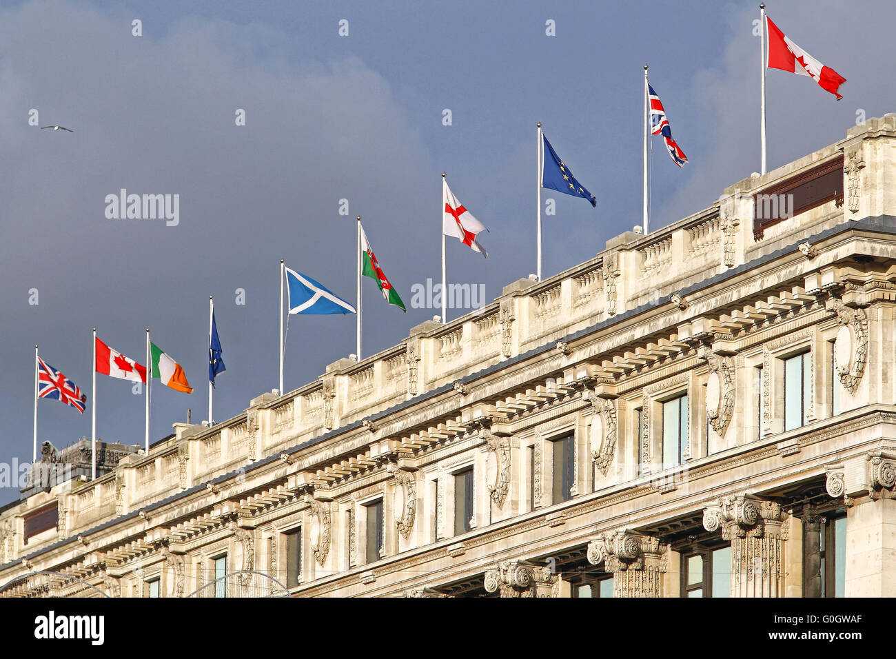 Flags of The World - Stock Image