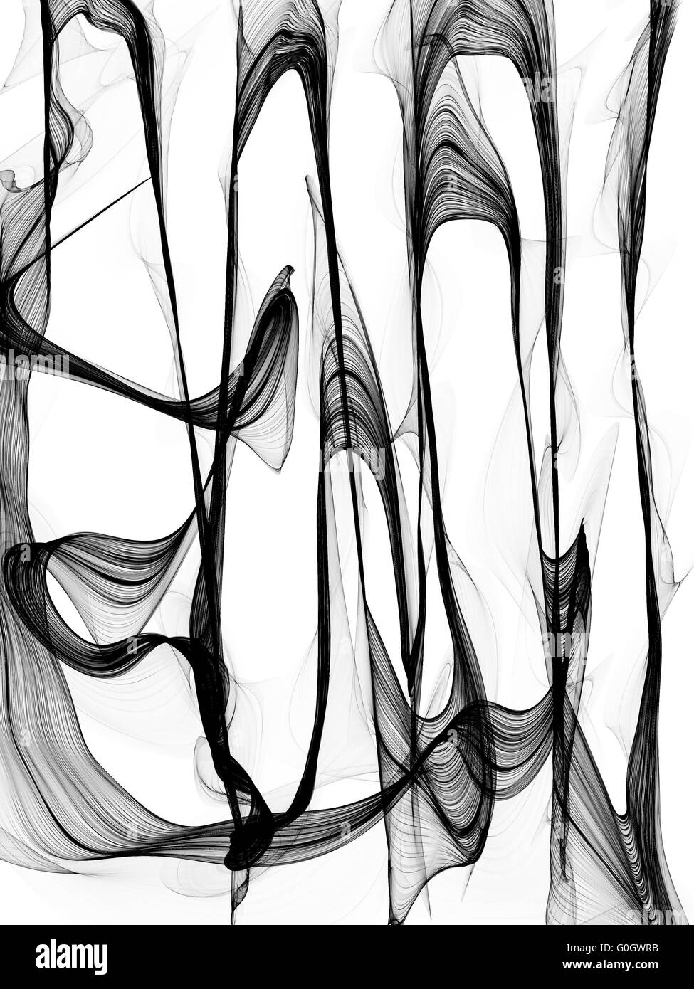 Abstract black and white background - Stock Image