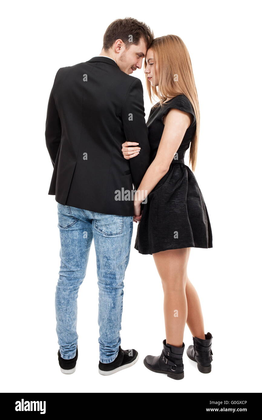Loving young couple - Stock Image