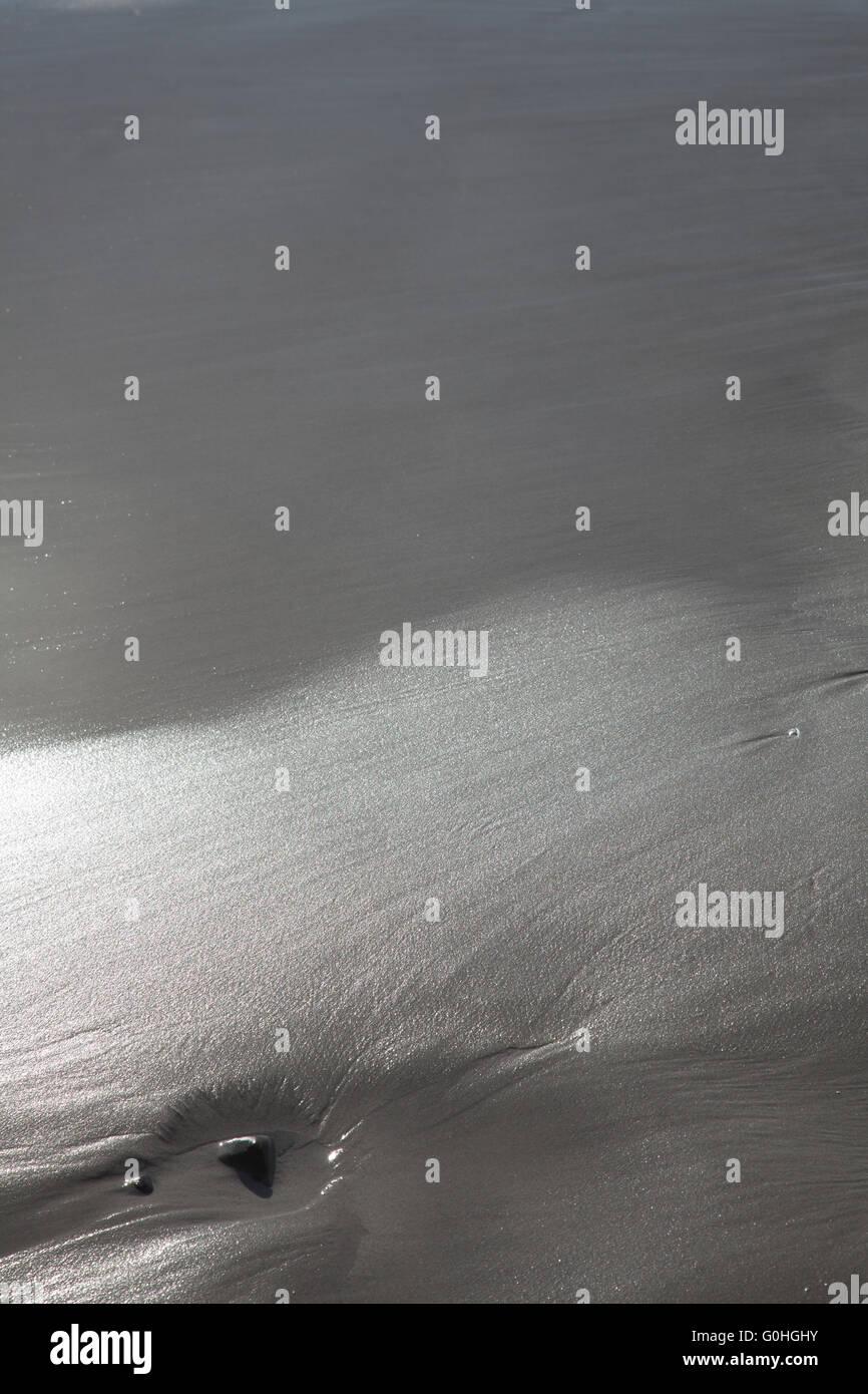 beach texture - Stock Image