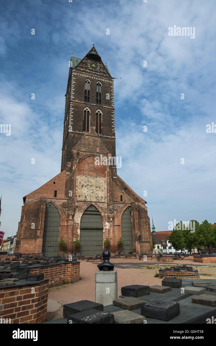Marien church - Stock Image
