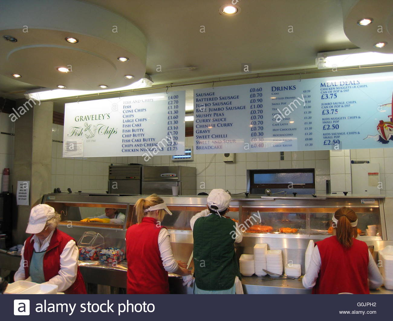 Price List Fish Chips In Stock Photos & Price List Fish Chips In Stock Images - Alamy