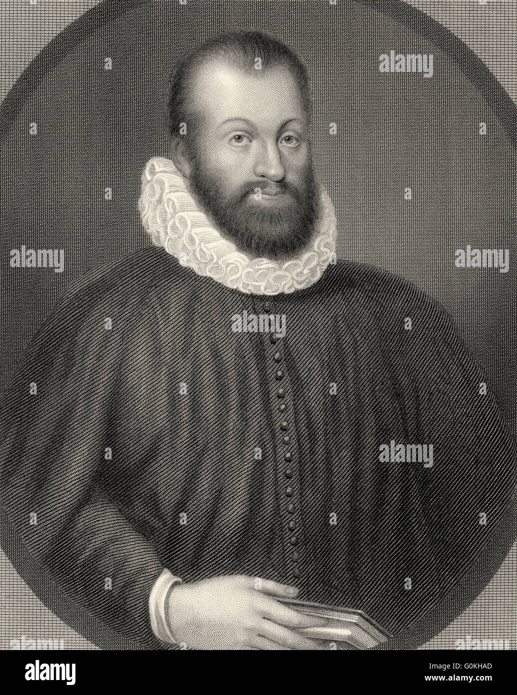 George Wishart, c. 1513-1546, a Scottish religious reformer and Protestant martyr - Stock Image