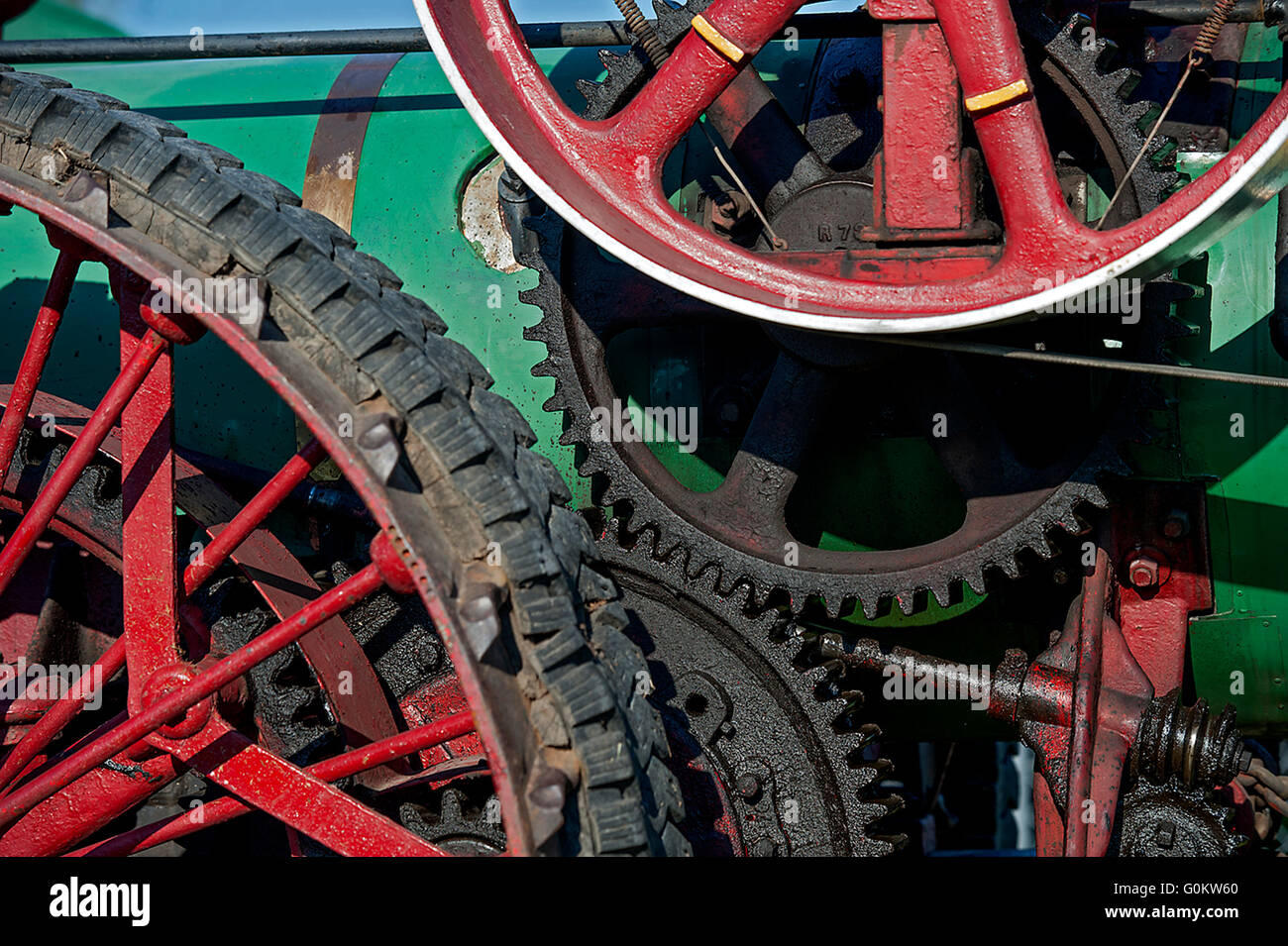 Wheels and things - Stock Image