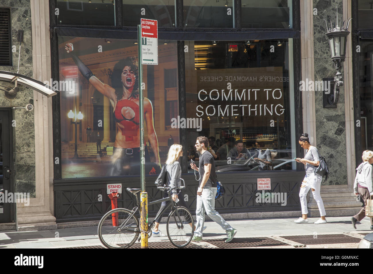 Commit To Something, catchy, image, Equinox, advertising