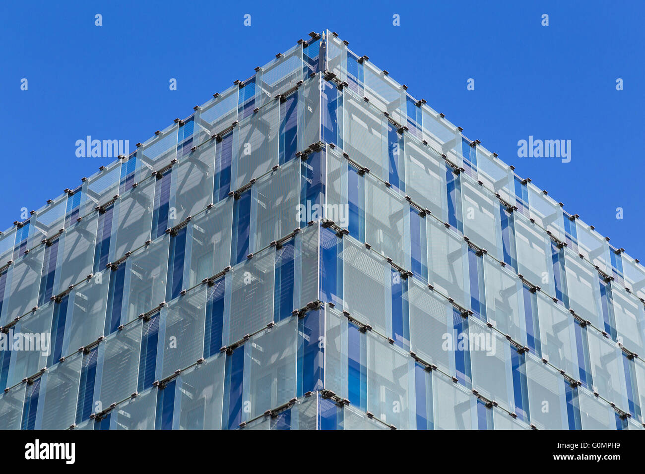 One of the corners of the Walker Building in Liverpool which makes up part of the University Of Liverpool campus. - Stock Image
