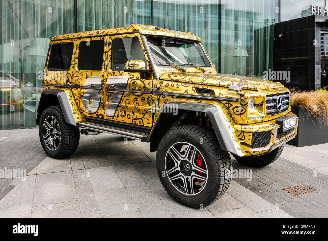 Gold Paintwork High Resolution Stock Photography And Images Alamy
