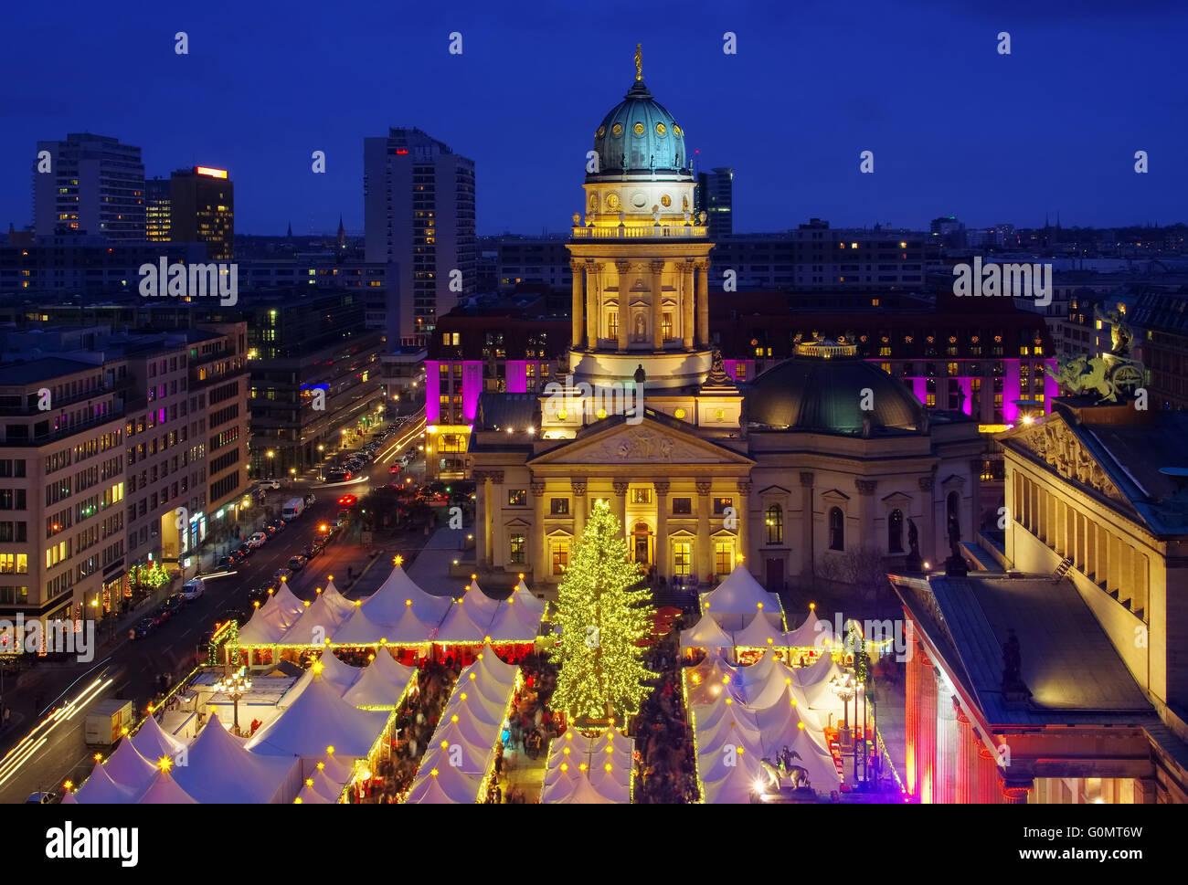 Berlin Weihnachtsmarkt Gendarmenmarkt Berlin Christmas