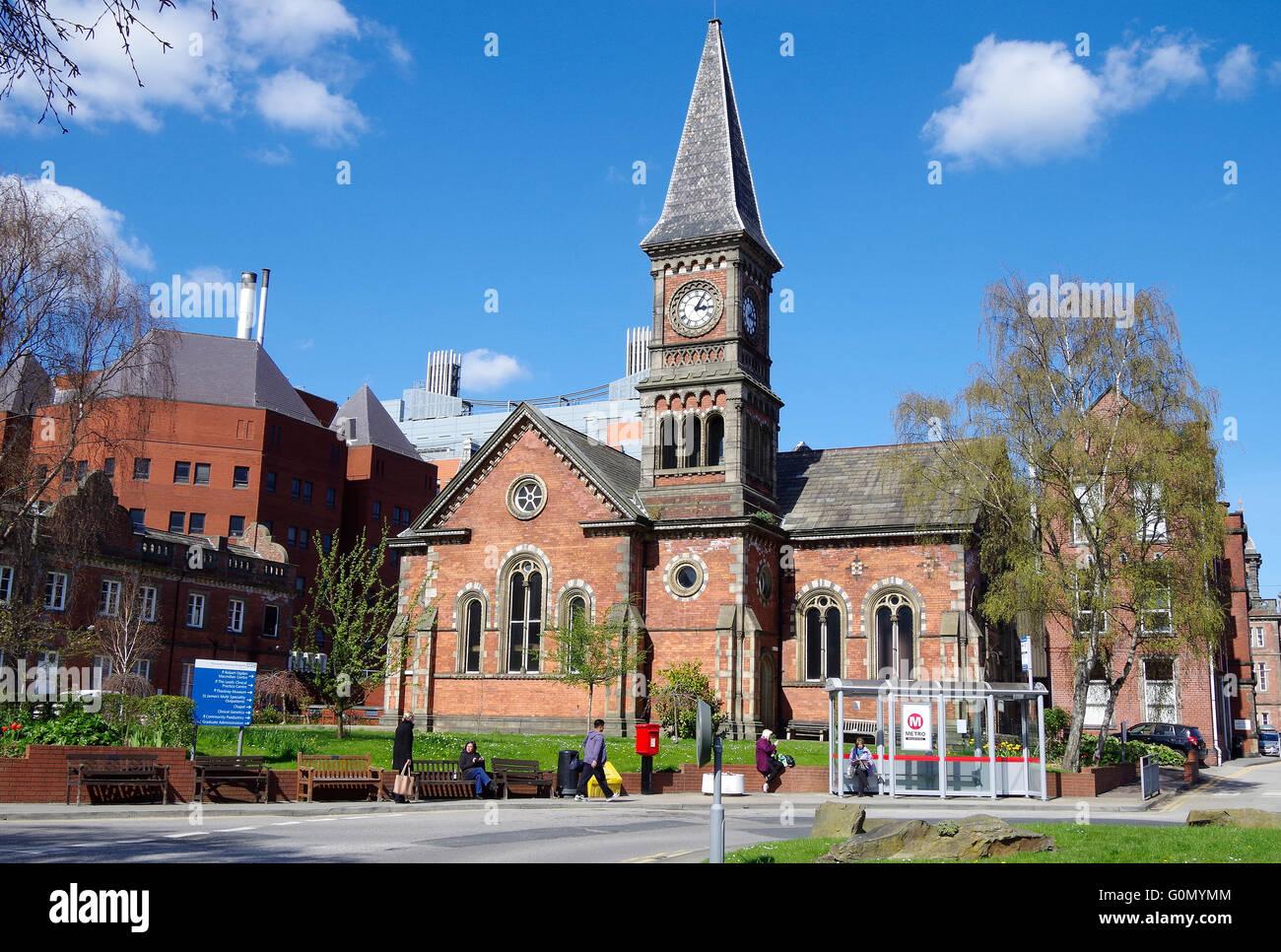 St James's Hospital, Leeds, the Chapel - Stock Image