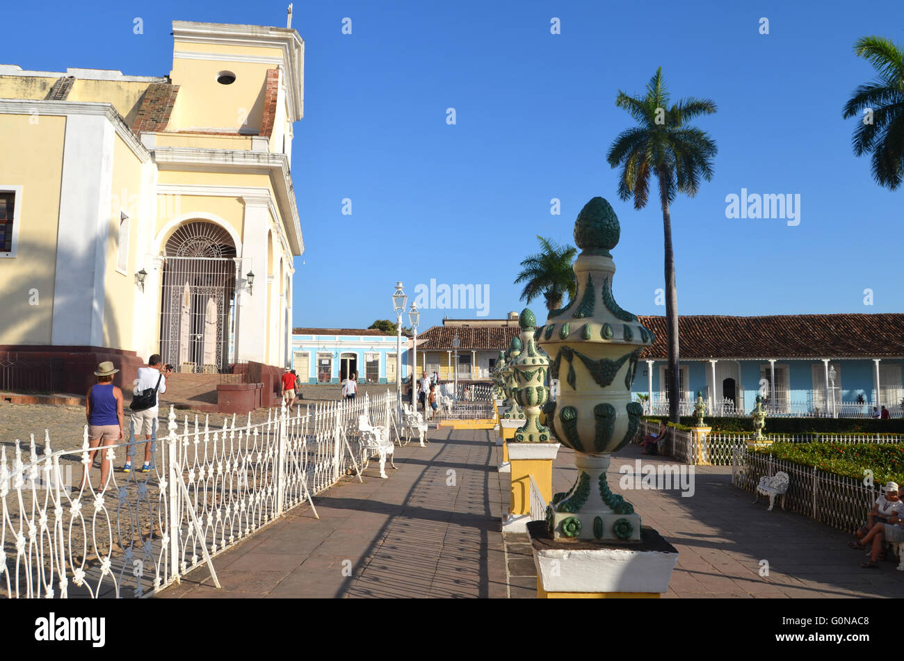 Holy Trinity church, Trinidad, Cuba 2016 - Stock Image