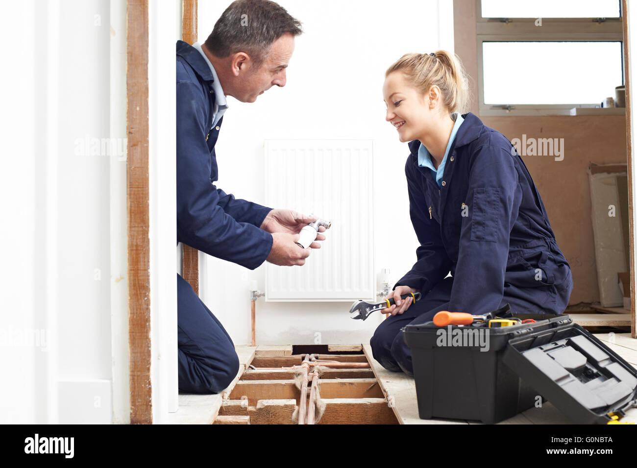 aprentice plumber