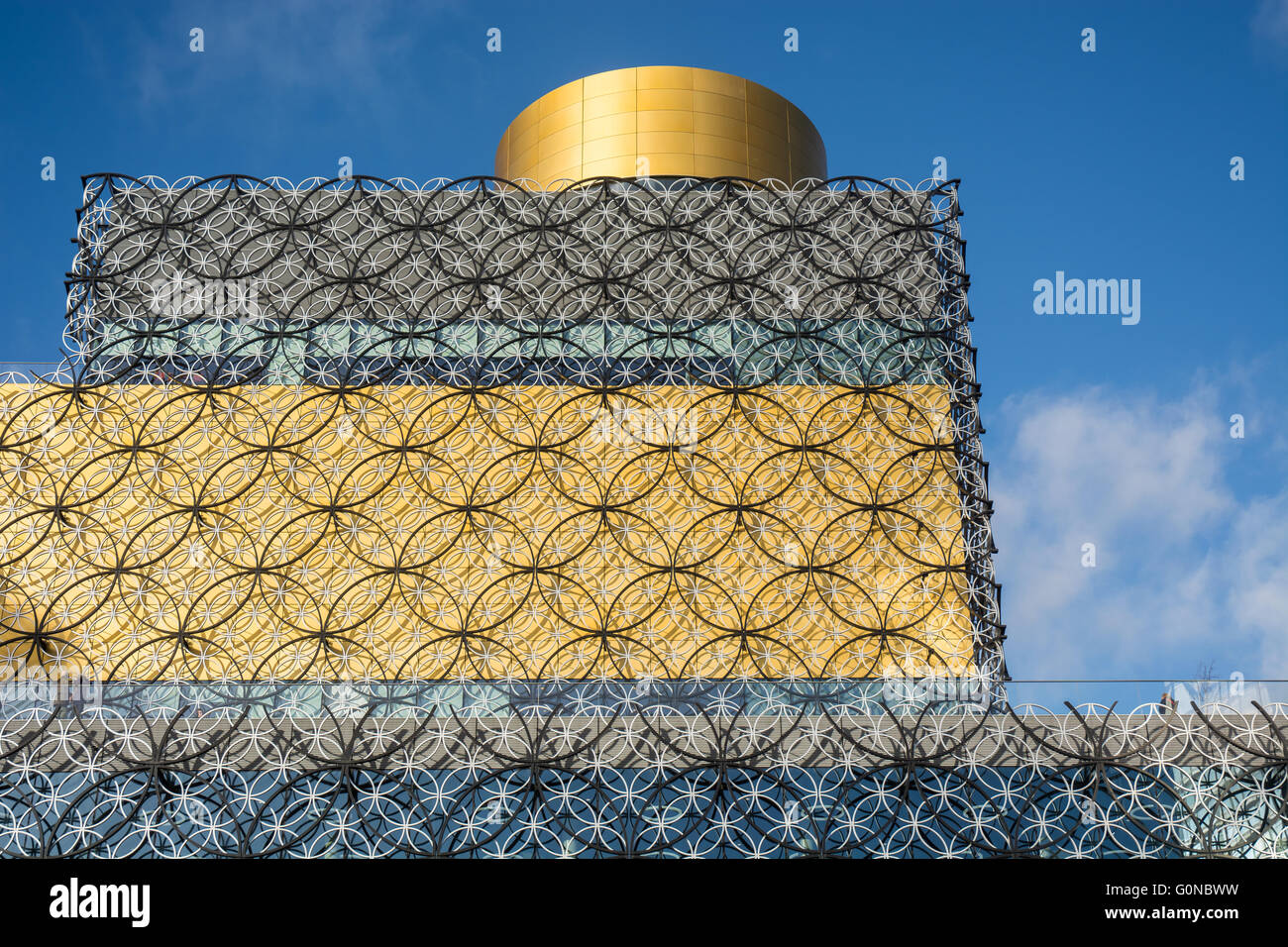 Detail of The Library in Birmingham, UK - Stock Image