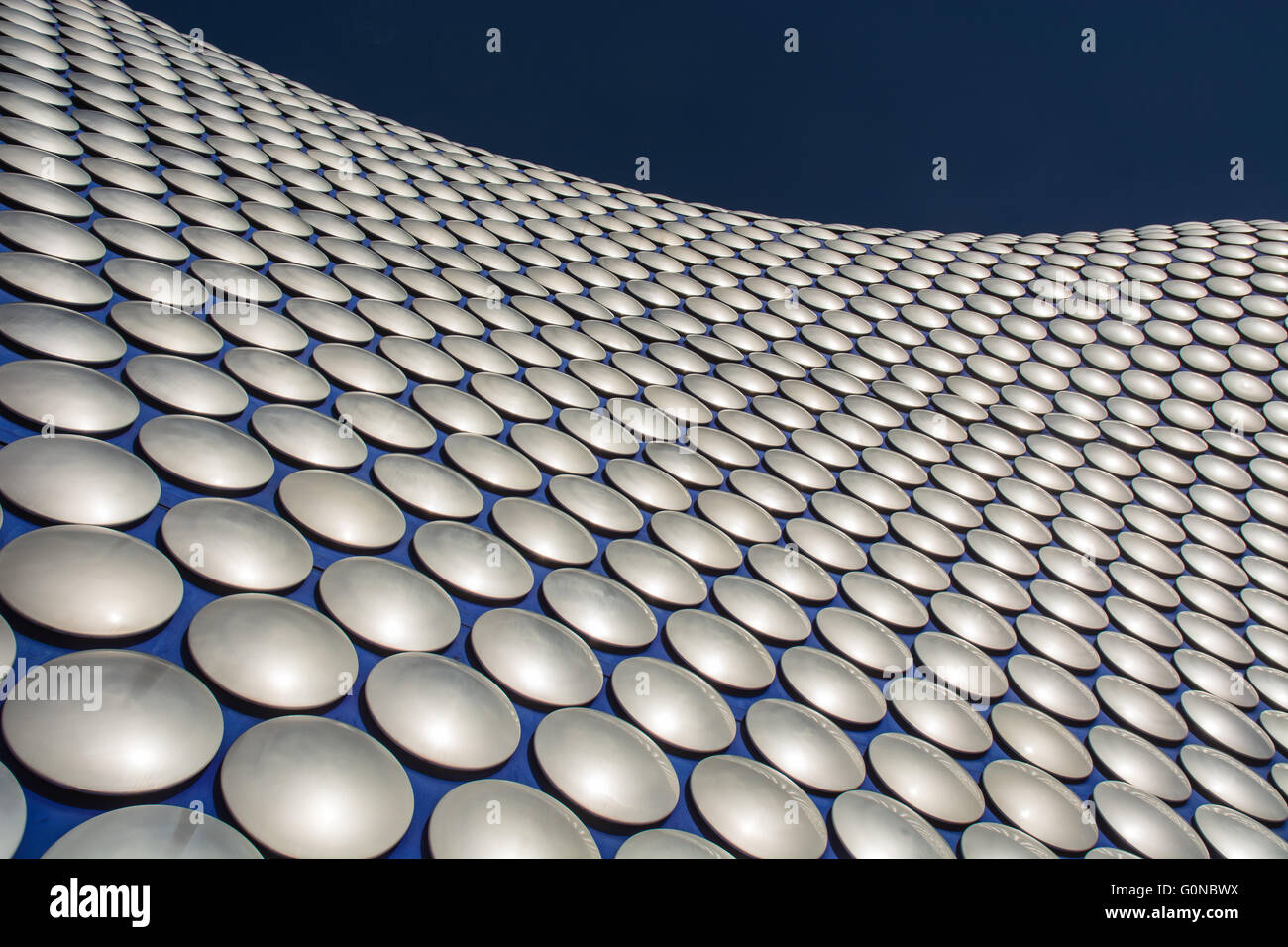 Detail of Selfridges Department Store in Birmingham, UK, designed by Future Systems. - Stock Image
