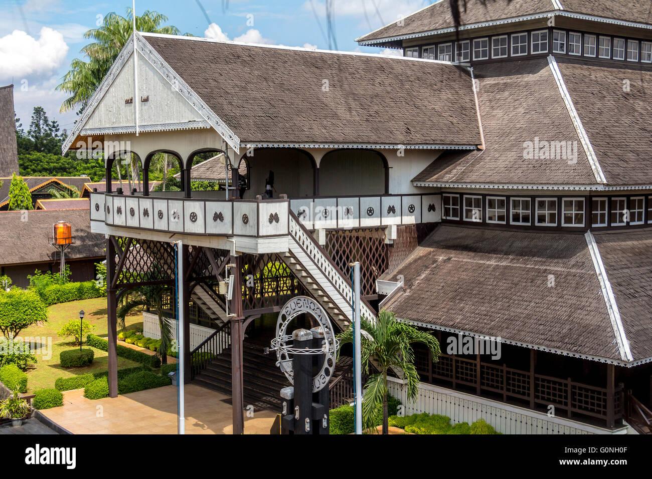 Inside taman mini park in Jakarta - Stock Image
